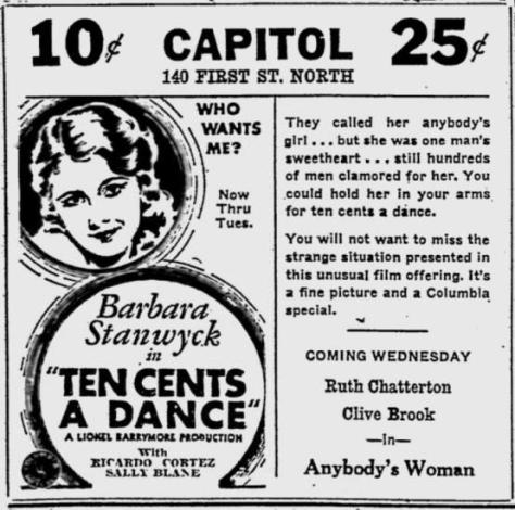 Ten Cents a Dance 13