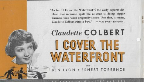 I Cover the Waterfront 4