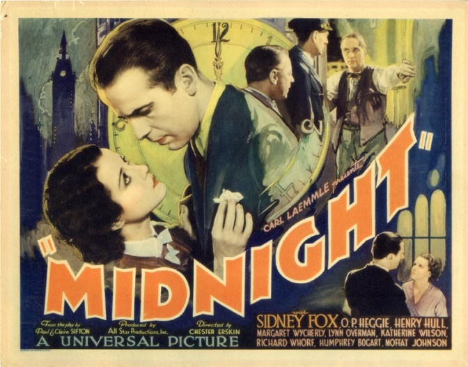 Midnight AKA Call It Murder (1934)
