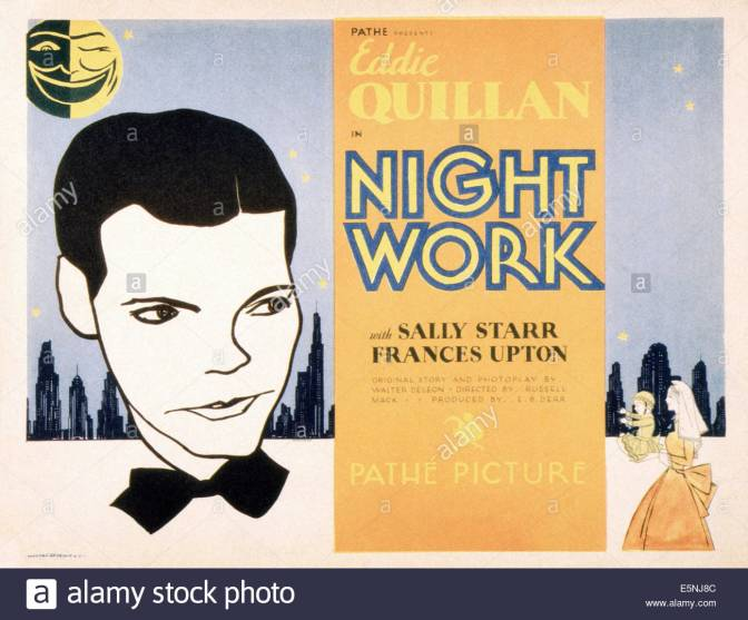 Night Work (1930)